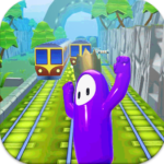 Subway Fall Run Guys MOD APK 1.0