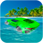 Water Surfer Floating Car MOD APK 1.3