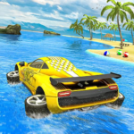 Water Surfer car Floating Beach Drive MOD APK 1.16