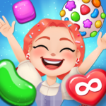 Candy Go Round – #1 Free Candy Puzzle Match 3 Game MOD APK 1.10.0