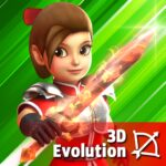 Dashero: Archer&Sword 3D – Offline Arcade Shooting MOD APK 0.0.15