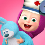 Masha and the Bear: Toy doctor MOD APK 1.2.3