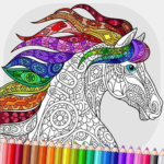 Relaxing Adult Coloring Book MOD APK 2.7