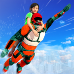 US Light Robot  Speed Hero :City Rescue Mission MOD APK 1.0.21