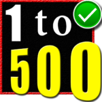 1 to 500 number counting game MOD APK 5