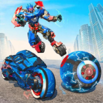 Ball Robot Transform Bike War : Robot Games MOD APK 2.0