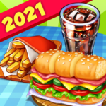 Hell's Cooking: crazy burger, kitchen fever tycoon MOD APK 1.100