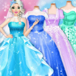Ice Princess Wedding Dress Up Stylist MOD APK 0.12