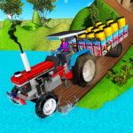 Indian Tractor Trolley Off-road Cargo Drive Game MOD APK 1.0.2