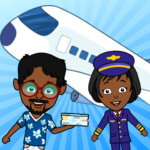 My Airport Town: Kids City Airplane Games for Free MOD APK 1.6.1