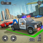 Police Tow Truck Driving Simulator MOD APK 1.1