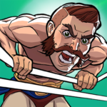 The Muscle Hustle: Slingshot Wrestling Game MOD APK 1.32.1971