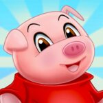 Three Little Pigs – Fairy Tale with Games MOD APK 1.6.0