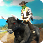 Angry Bull Attack – Cowboy Racing MOD APK 1.3