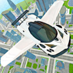 Flying Car Real Driving MOD APK 3