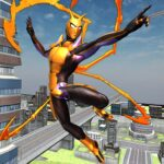 Flying Spider Hero Two -The Super Spider Hero 2020 MOD APK 0.2.7