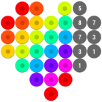 Mosaic Color by Number – Hex Puzzle Beads For Kids MOD APK 1.7