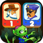 Two guys & Zombies (two-player game) MOD APK 1.3.1