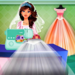 Wedding Dress Tailor Shop: Design Bridal Clothes MOD APK 1.0.8