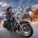 Outlaw Riders: War of Bikers MOD APK 0.2.9