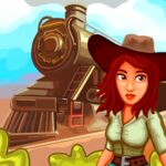 Gold and Trains – rotate tracks, connect cities MOD APK 1.34