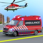 Heli Ambulance Simulator 2020: 3D Flying car games MOD APK 1.16
