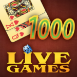 Thousand LiveGames – free online card game 1000 MOD APK 4.01