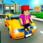 Virtual Life In A Simple Blocky Town MOD APK 1.12