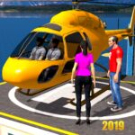 Helicopter Taxi Tourist Transport MOD APK 3.1.226