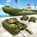 US Army Transport Tank Cruise Ship Helicopter Game MOD APK 4.2