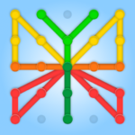 GeoBoard relaxing puzzle game drawing lines shapes MOD APK v1.5.9