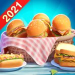 Crazy Diner: Crazy Chef's Cooking Game MOD APK 1.1.0 A Handful of Diamonds