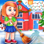Christmas House Cleaning Game MOD APK 1.0.5