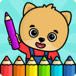Coloring book for kids MOD APK 1.108