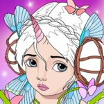 Magic Fairy Coloring Book for Girls MOD APK 2.9